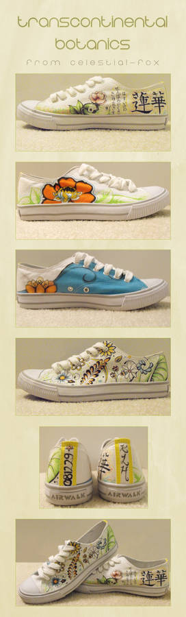 081229 Flower Shoes