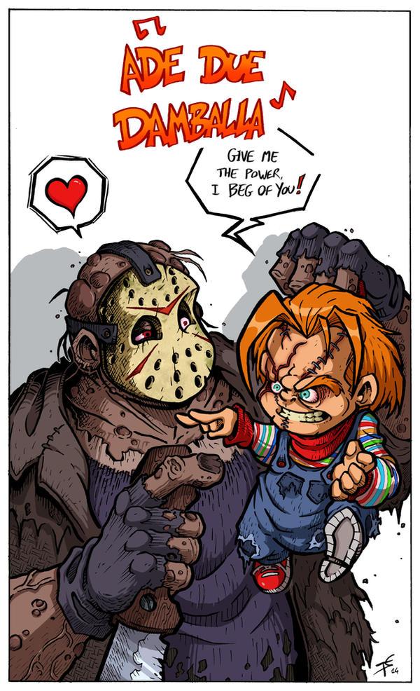Freddy Vs Jason Vs Chucky Vs Michael Myers Vs Pinhead Chucky vs Jason...
