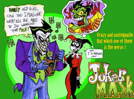 Joker Mask Fanart by Boredman