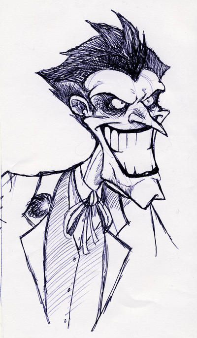 Joker sketch by Boredman on DeviantArt