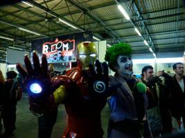 IronMan meets the Joker by Boredman