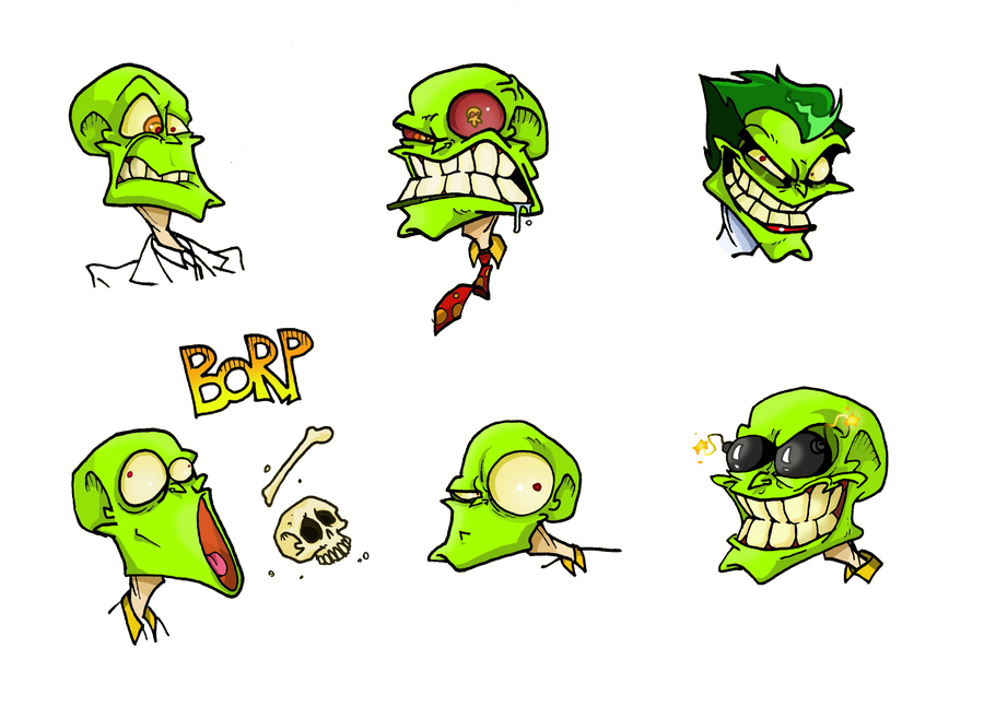 Mask Emoticons by Boredman