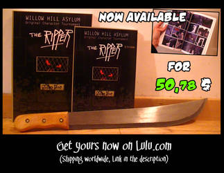 WHA - The Ripper BOOK