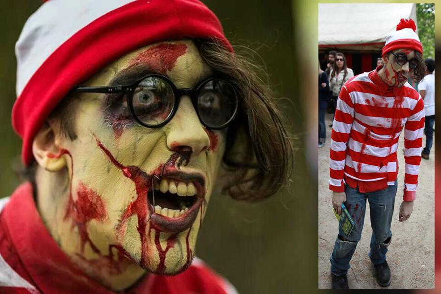 Zombie Waldo by Boredman
