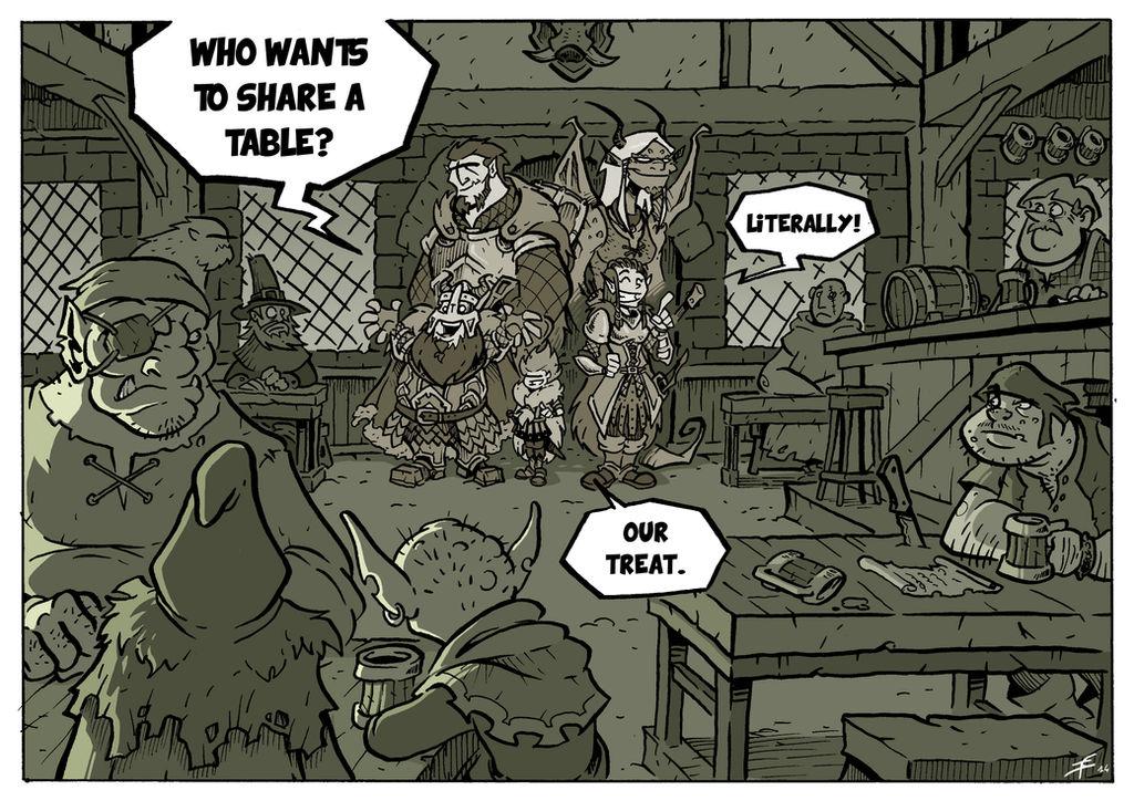 Dungeons and Dragons - Bar Joke