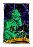 Halloween Town - Oogie by Boredman