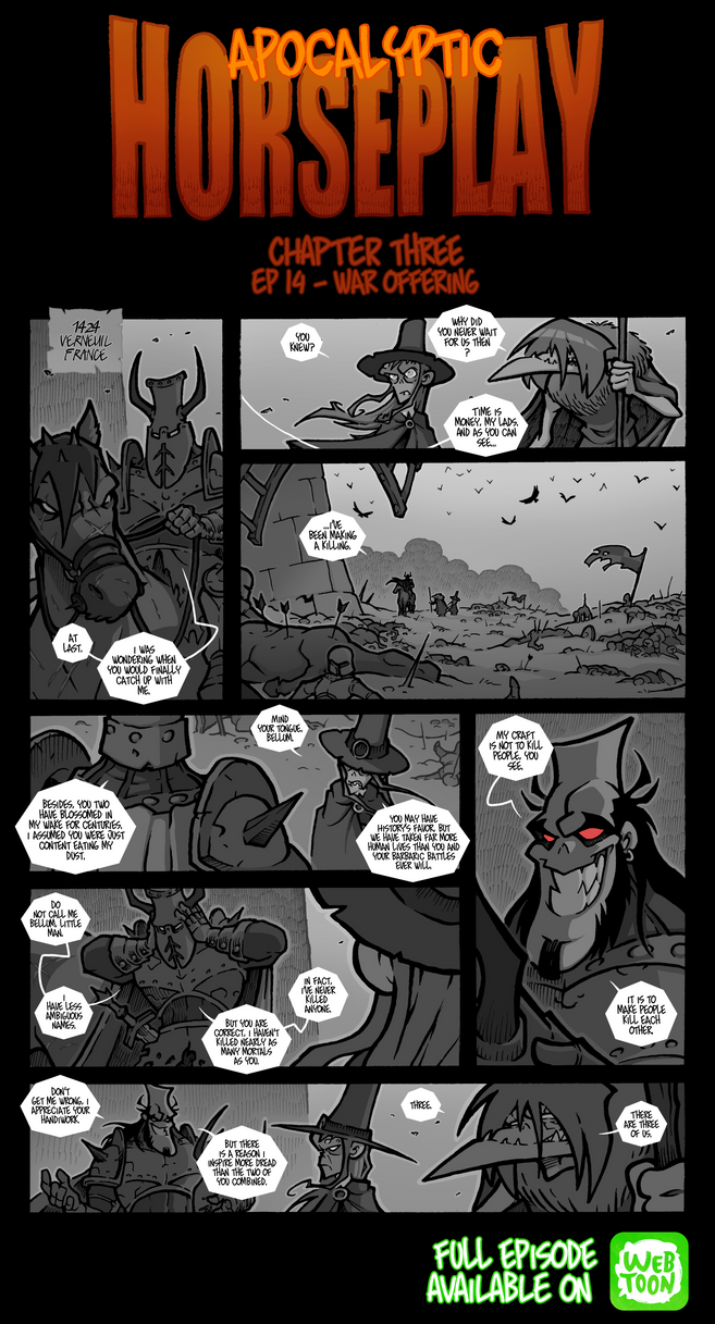 Apocalyptic Horseplay - CH3 Ep14 by Boredman