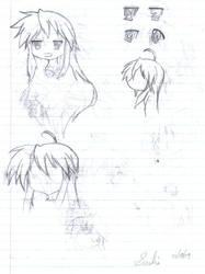 LuckyStar Sketch dump pg 2