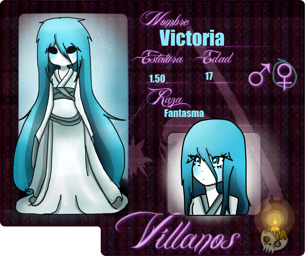 TLooo-ficha-victoria-la fantasma by Invaderdaniela