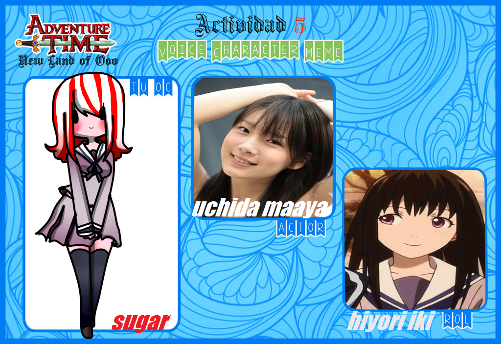 Actividad 5 -Voice Character-Sugar by Invaderdaniela