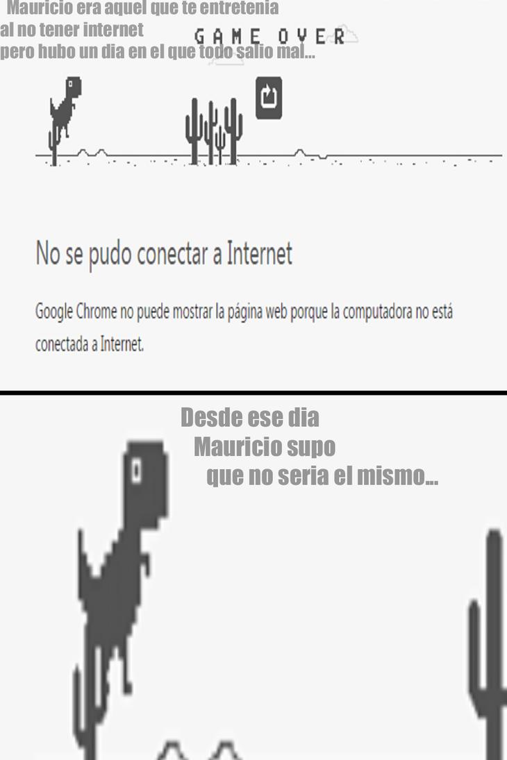 La historia de mauricio el dinosaurio by Invaderdaniela