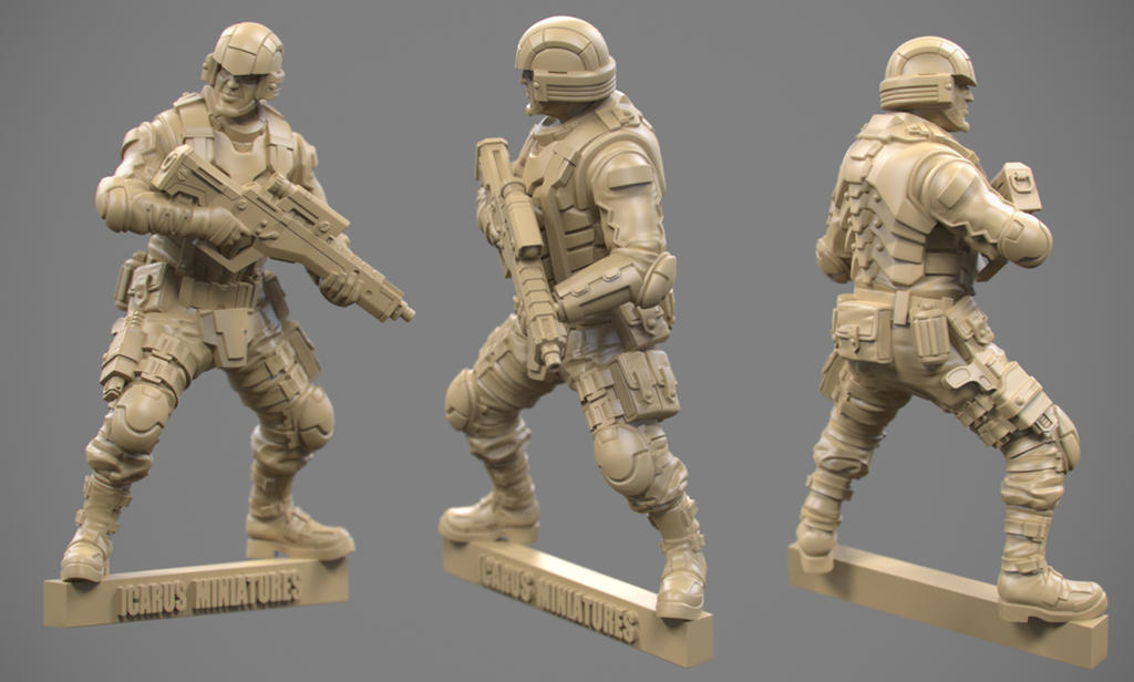 Trooper01 Mini by jips3d