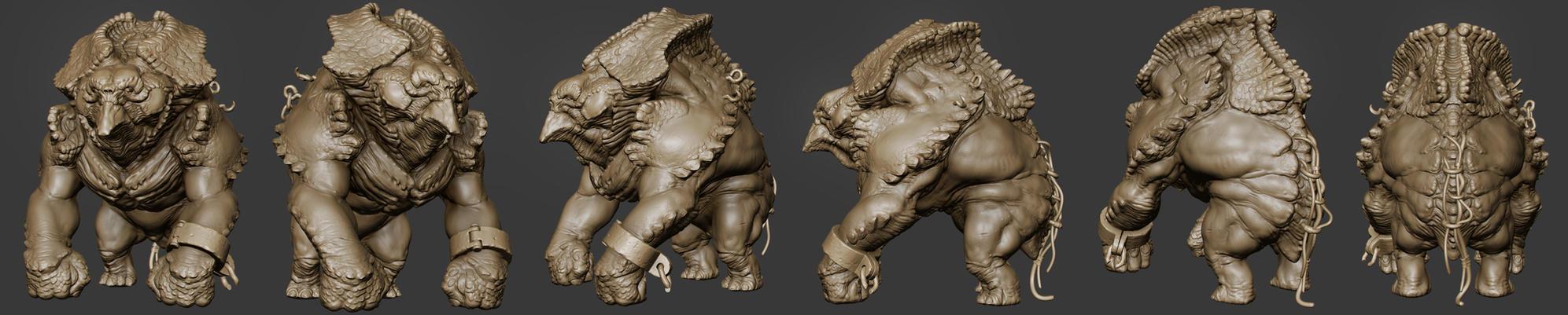 Beast model by jips3d