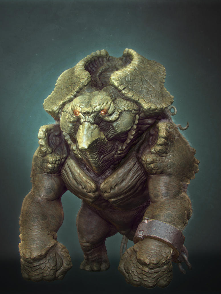 Beast scene render2 by jips3d
