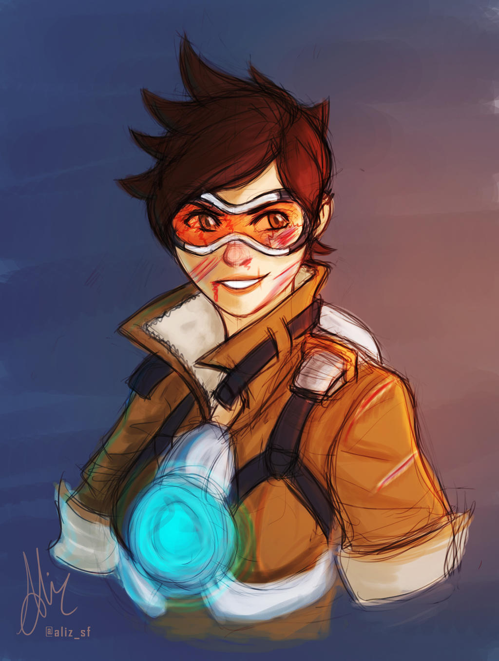 overwatch tracer hot