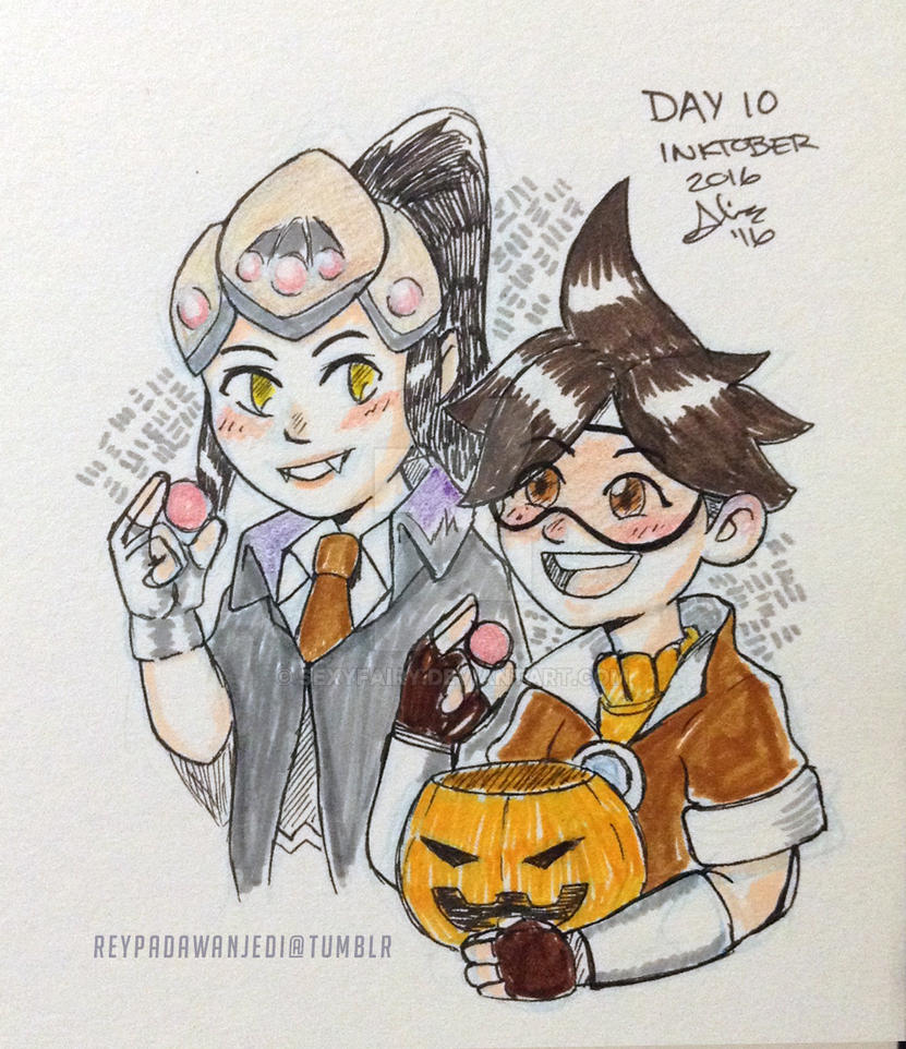 Halloween Sprays OW .Inktober 2016 by sexyfairy on DeviantArt
