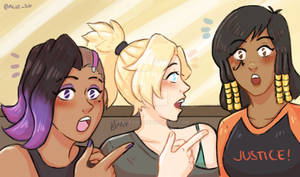 They found her! .Overwatch