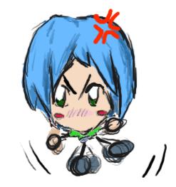 Angry Doodlebug by JediAmara