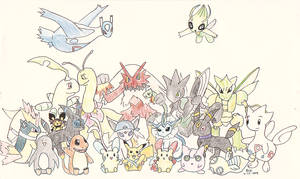 PokeCommunity Group Portrait by JediAmara