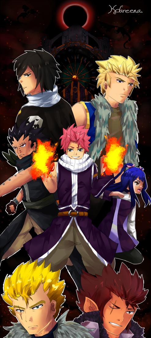 The 7 Dragon Slayers by kdareena