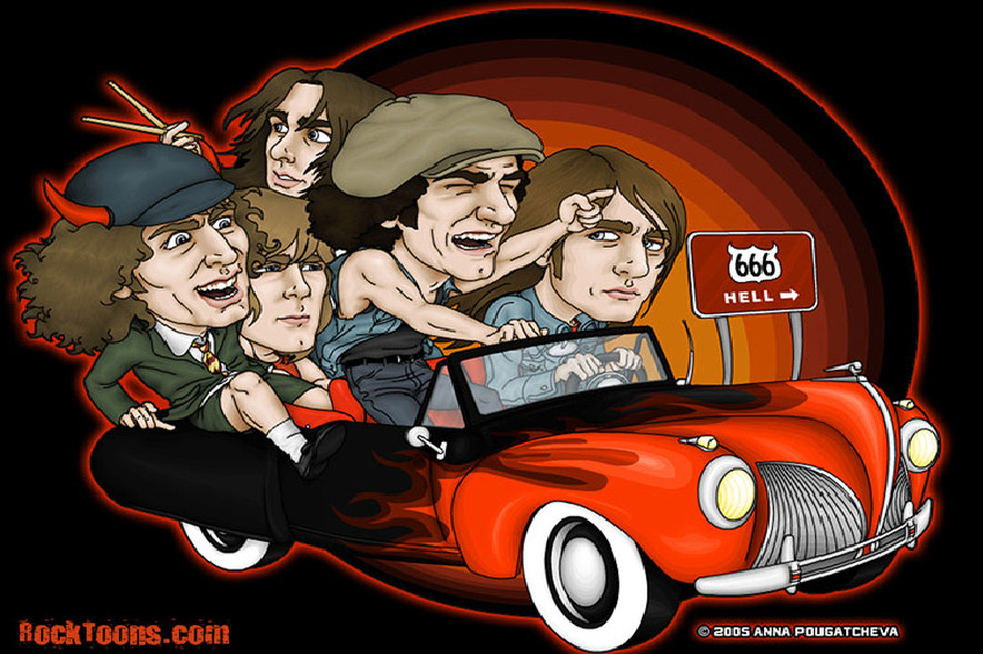 ACDC HIGHWAY TO HELL by ACDCFANCLUB