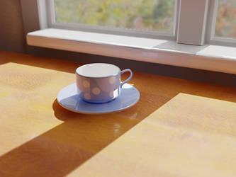 Cupp o' tea by LordZargon