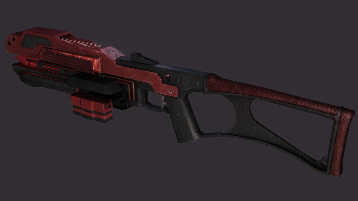 Nod Laser Rifle 2 by LordZargon