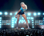 Giant Taylor Swift in Concert