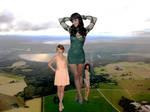 Mega Taylor, Katy, and Selena