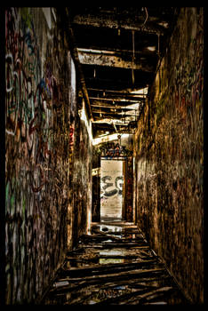 Scary Dairy Halls HDR