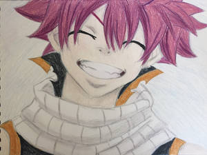 Natsu's Infectious Smile