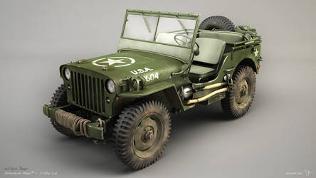 Willys Jeep by zsozs
