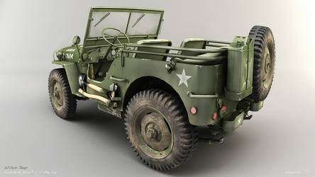Willys Jeep 02 by zsozs