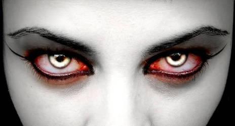 anger eyes