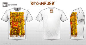 Steampunk DA in White