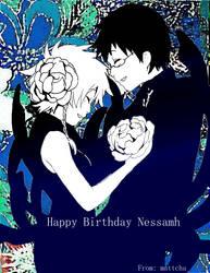 Happy Birthday Nessamh by Sweet-n-Spicy-Tea