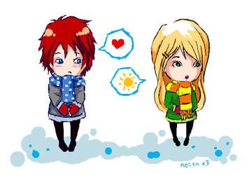 A Winter Love by Sweet-n-Spicy-Tea