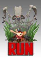 LoL Team Run Logo by Graveitor