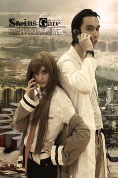Steins Gate Live-action Fanmade poster