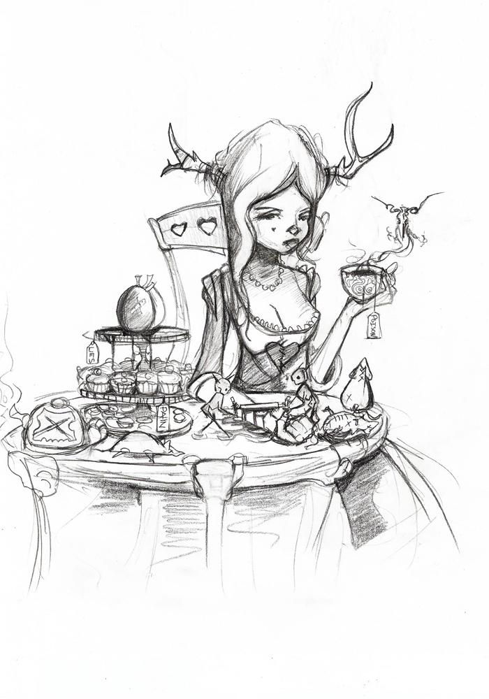 Tea Party by SeeThrou