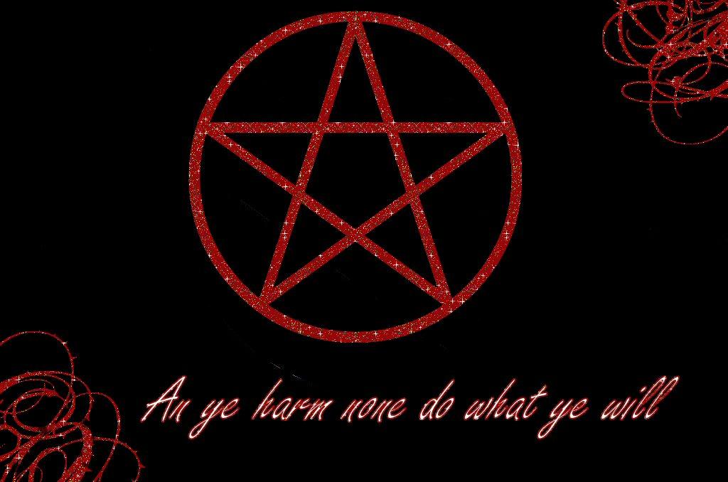 wiccan pentagram wallpaper - photo #8