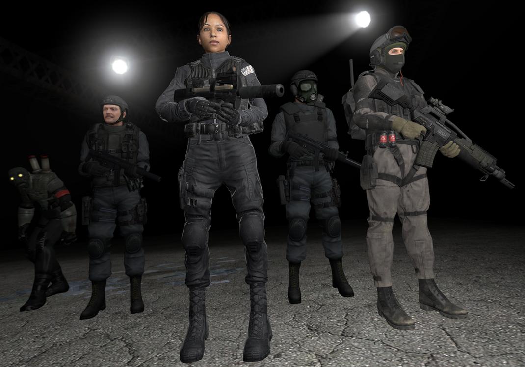 Agency - Black Operators by DBuilder