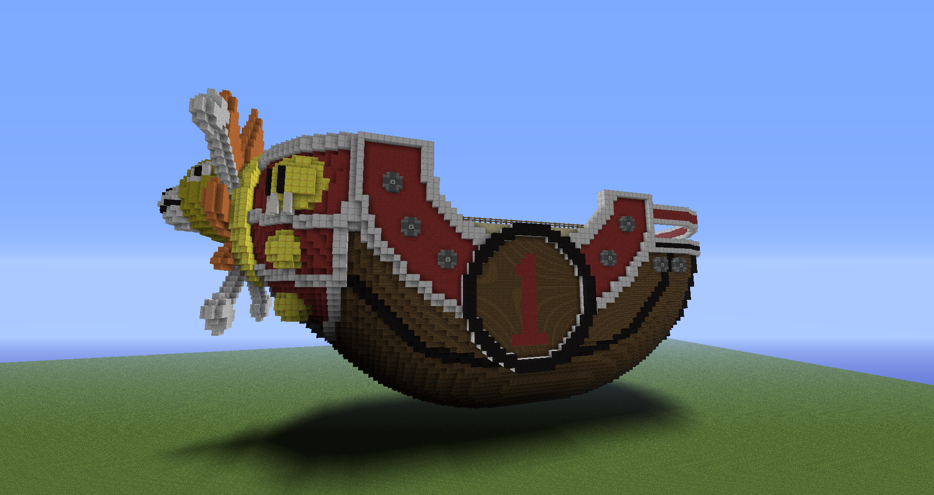 New One Piece Minecraft Project Part 2 By Kimdrello On