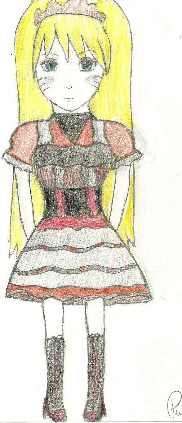 ACC - Naruto in Gothic Lolita by Musicgirl1796