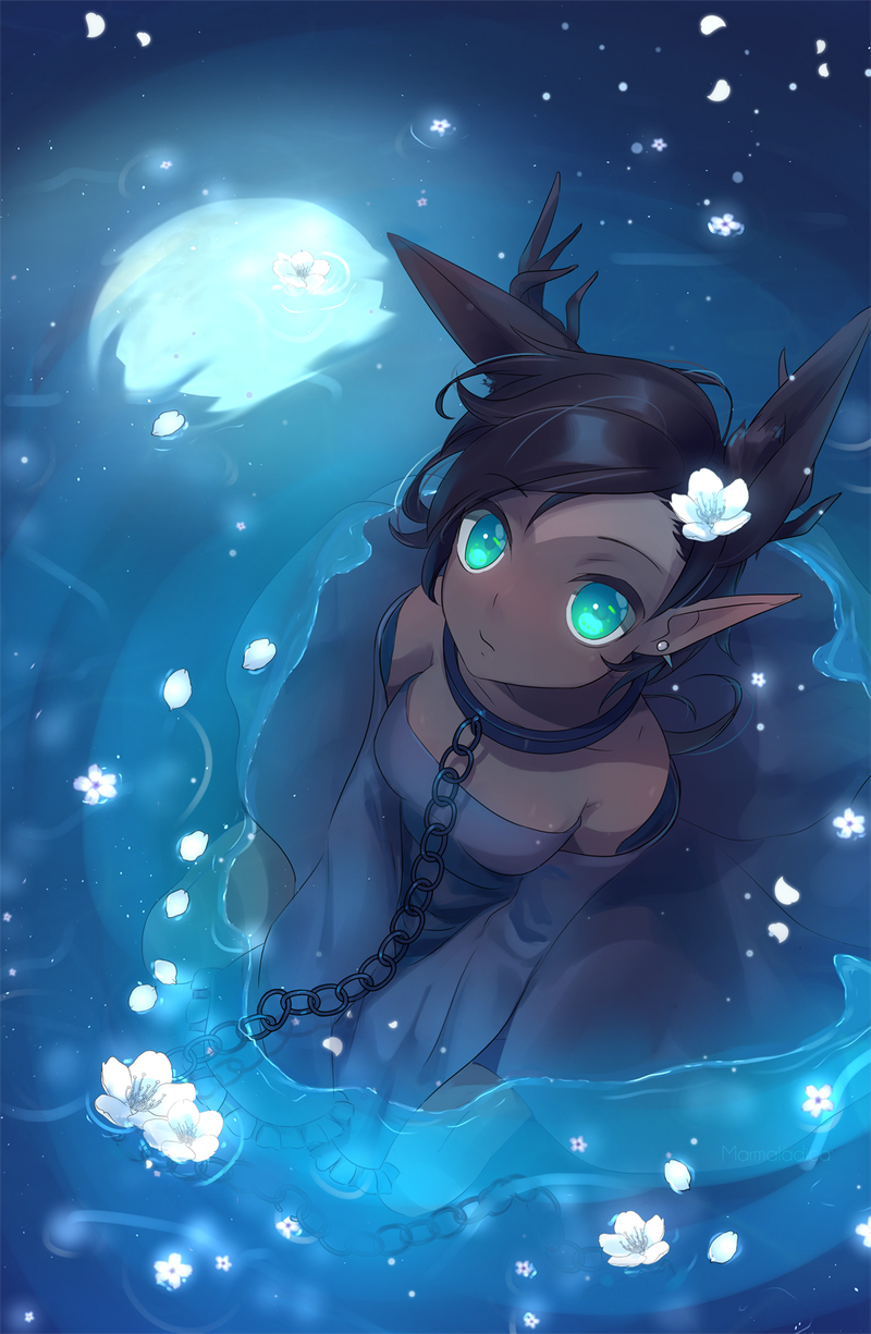 Moonflower by Marmaladica