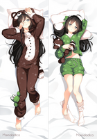 Dakimakura Commission by Marmaladica