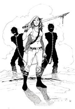 Walking Dead///Michonne