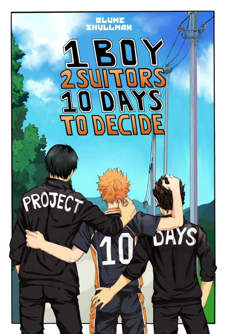 PROJECT 10 DAYS - Colored Cover by BlumeShullman