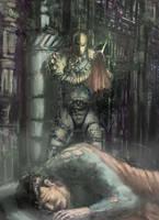 Deathstroke by thebloodyhorse