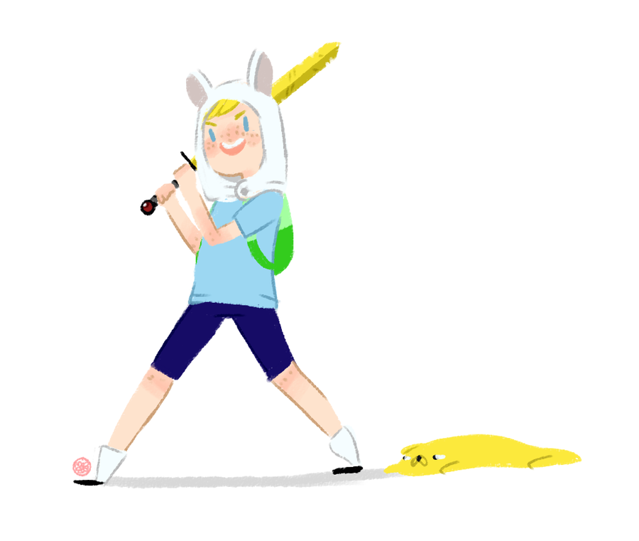 Finn + Jake by Amarrylis